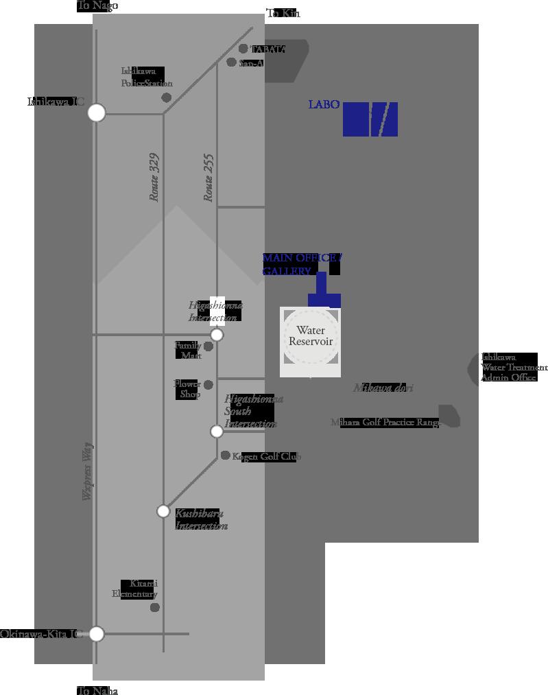 株式会社クレールアーキラボ周辺の地図